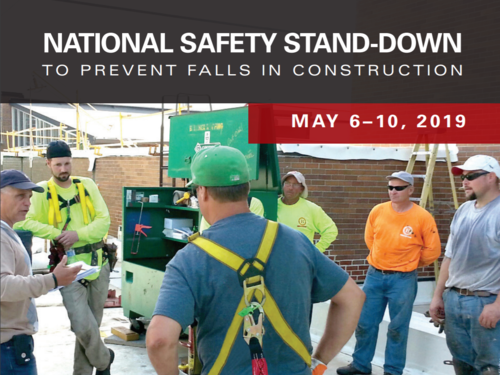 National Safety Stand-Down Banner