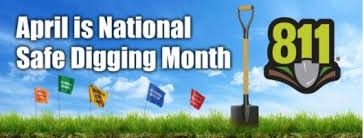 National Safe Digging Month Banner