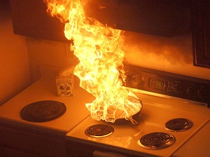 Stove Top Fire