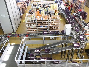 Guardrails Inside Packaging Center