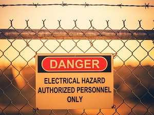 Electrical Hazards Danger Sign