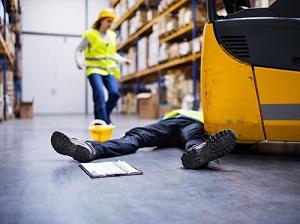 Forklift Incident in Warehouse, Worker Injured