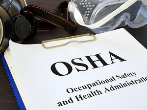 OSHA, Occupational Safety and Health Administration, Clipboard and PPE