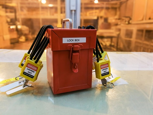 Lockout Tagout Lock Box