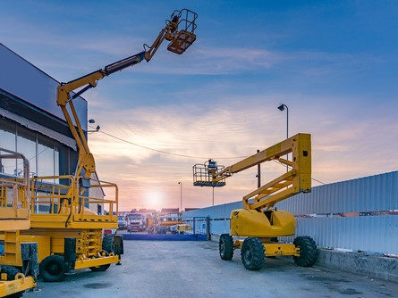 Two Aerial Lifts