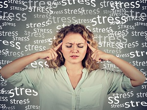 Woman Feeling Stress