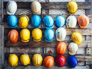 Assorted Hard Hats