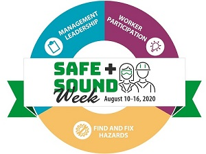 Safe and Sound Week Banner