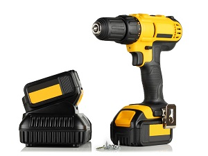 Cordless Screwdriver with Battery Pack