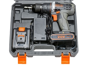 Cordless Drill and Battery Pack in Carry Case