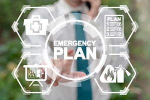 Graphic Showing Emergency Plan