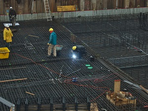 Welders on Construction Site