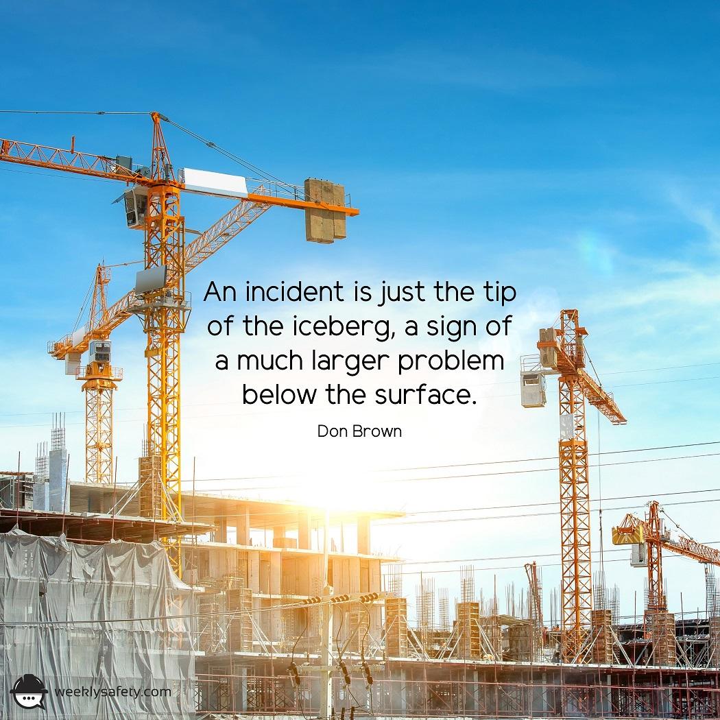 Large cranes on a construction site.