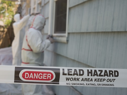 Lead Hazard Warning Tape