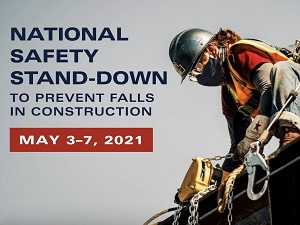 National Safety Stand-Down to Prevent Falls in Construction Banner Image