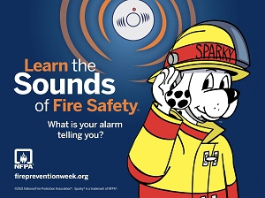 NFPA 2021 Fire Prevention Week Banner