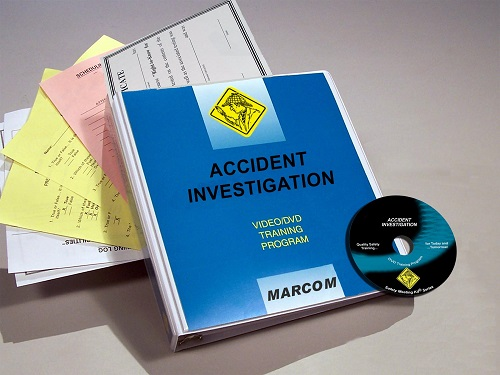 MARCOM's Accident Investigation DVD Program provides employees with the information that they need to understand the goals of an accident investigation, the process itself, and how they can participate in the process to help make their workplace safer. The DVD program comes with a comprehensive leader's guide, reproducible scheduling & attendance form, employee quiz, training certificate and training log.