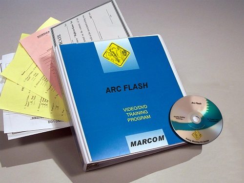 MARCOM's Arc Flash DVD Program focuses on what arc flash is, its hazards and how employees can avoid it on the job. The DVD program comes with a comprehensive leader's guide, reproducible scheduling & attendance form, employee quiz, training certificate and training log.