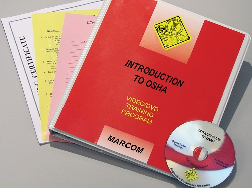 MARCOM's Introduction to OSHA DVD Program discusses the rights and responsibilities employees and employers have under OSHA and how the agency enforces its regulations. The DVD program comes with a comprehensive leader's guide, reproducible scheduling & attendance form, employee quiz, training certificate and training log.