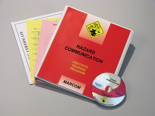 MARCOM's Hazard Communication in Industrial Environments DVD Program discusses the requirements of the HAZCOM Standard, the hazards that can be associated with different types of HAZMATs, and what employees can do to avoid these hazards. The DVD program comes with a comprehensive leader's guide, reproducible scheduling & attendance form, employee quiz, training certificate and training log.