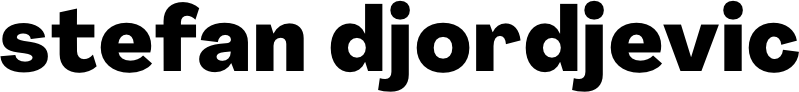 Stefan's logo for his website.
