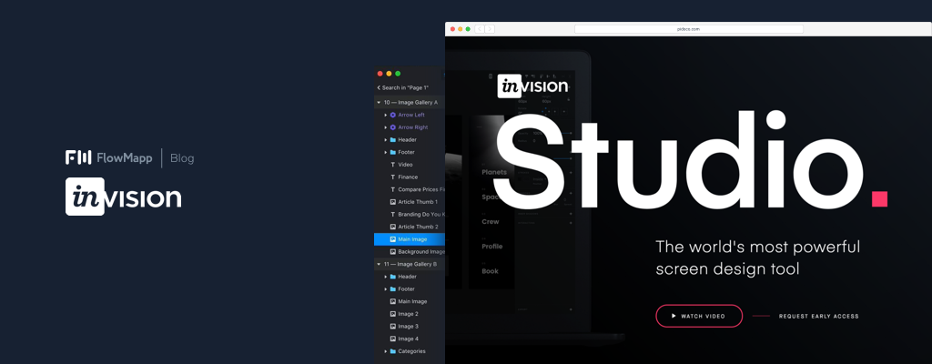 Invision Studio App