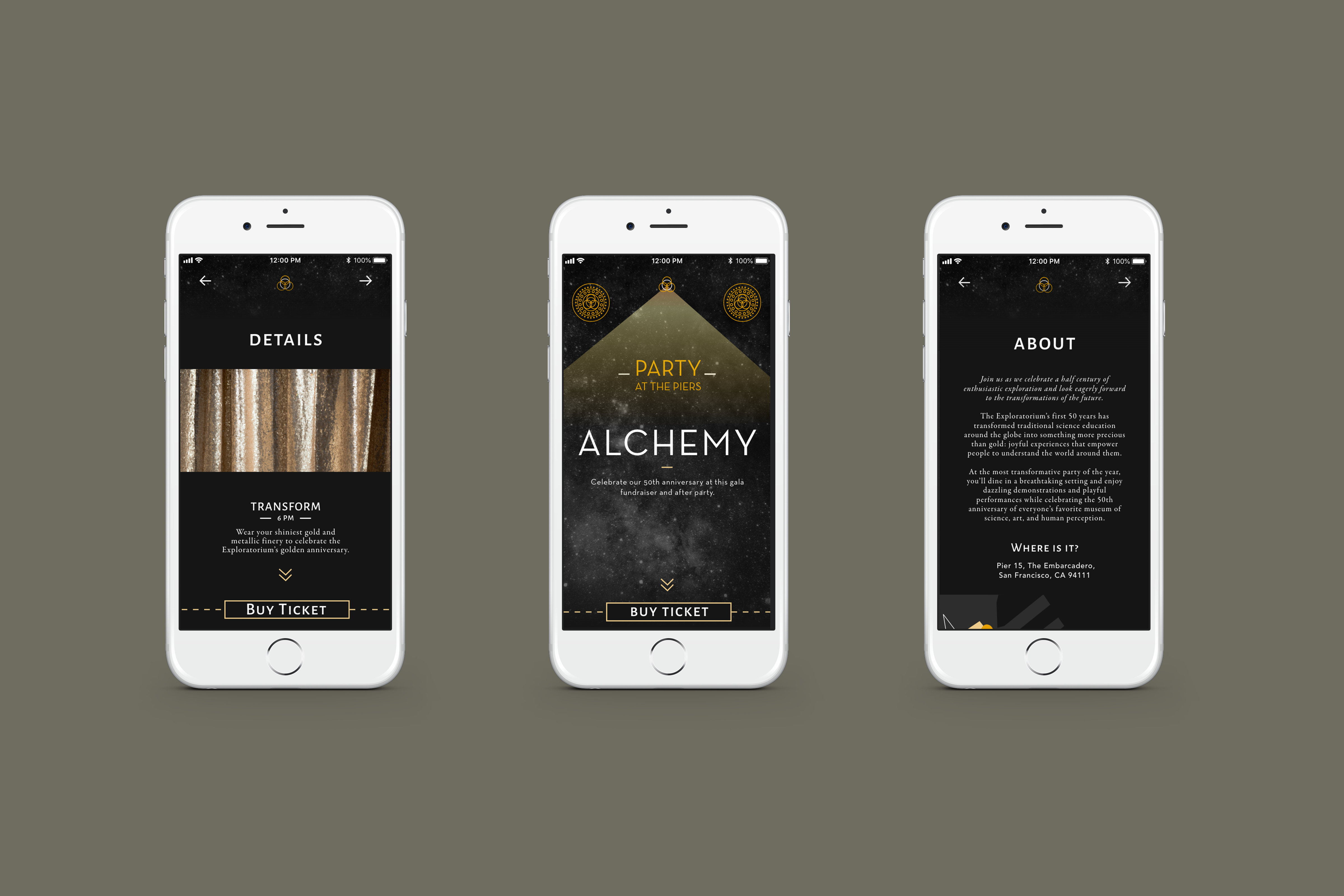 Alchemy mobile website