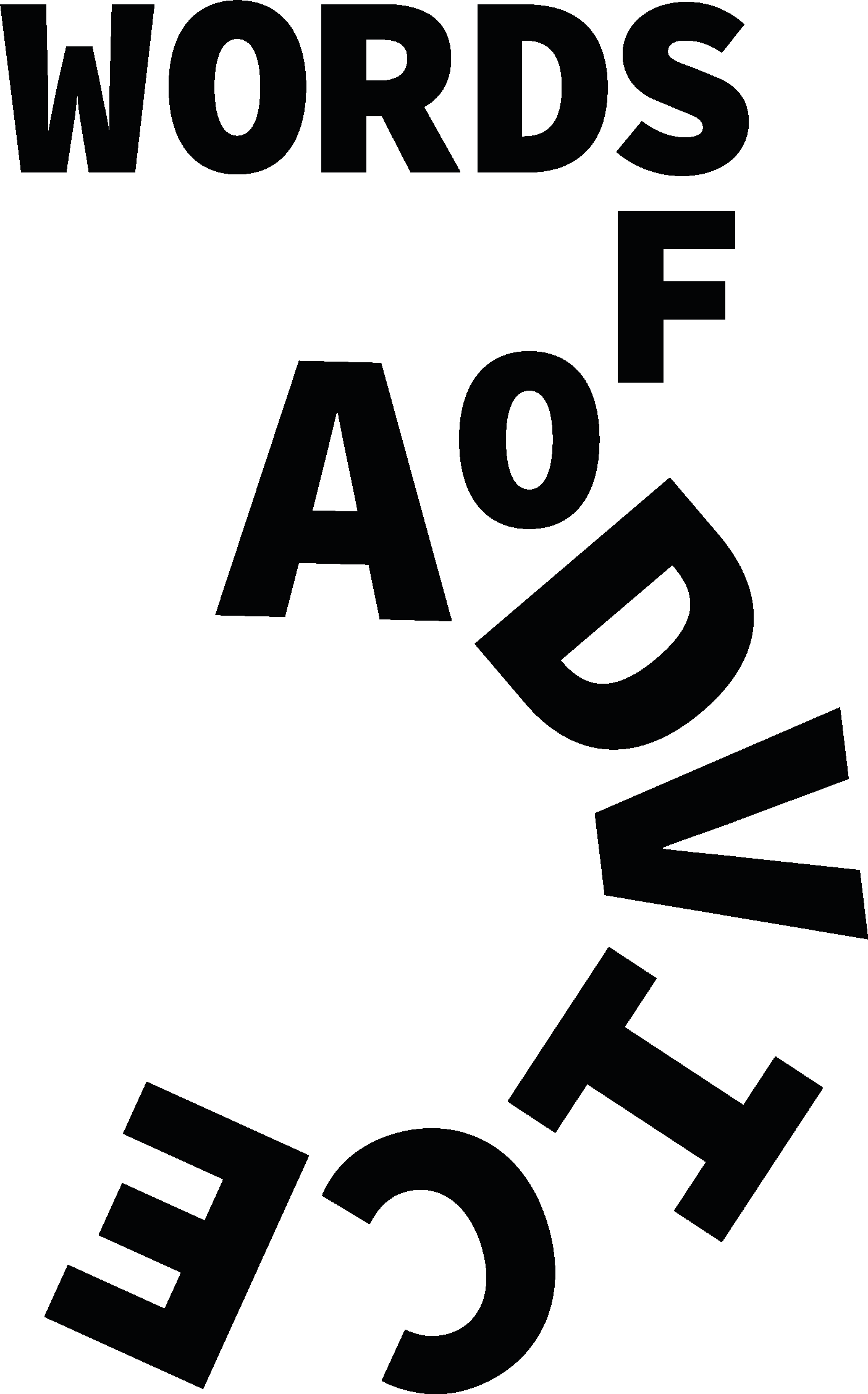 3 words of Advice logo
