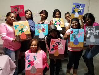 Painting Uncorked class