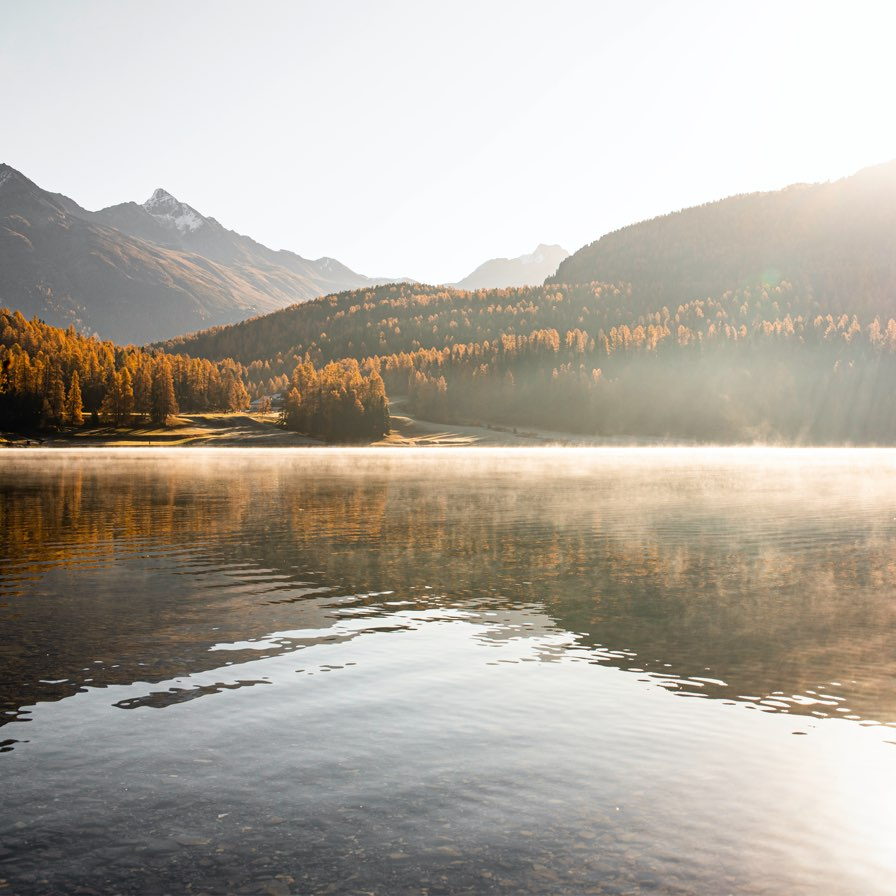 Andreas Beugger auf Instagram – Lake St. Moritz