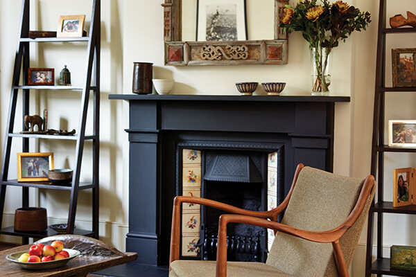 Living Room at Family Home in Islington, London. House of Hanna in collaboration with Redesign London