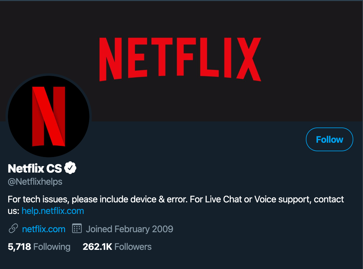 @Netflixhelps self-service