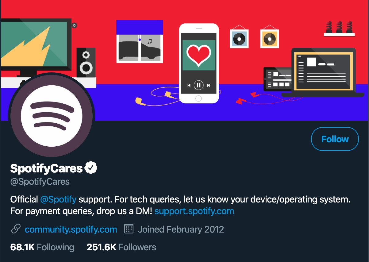 @SpotifyCares self-service