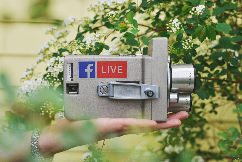 facebook live self-service