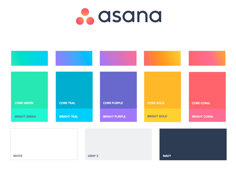 asana colors
