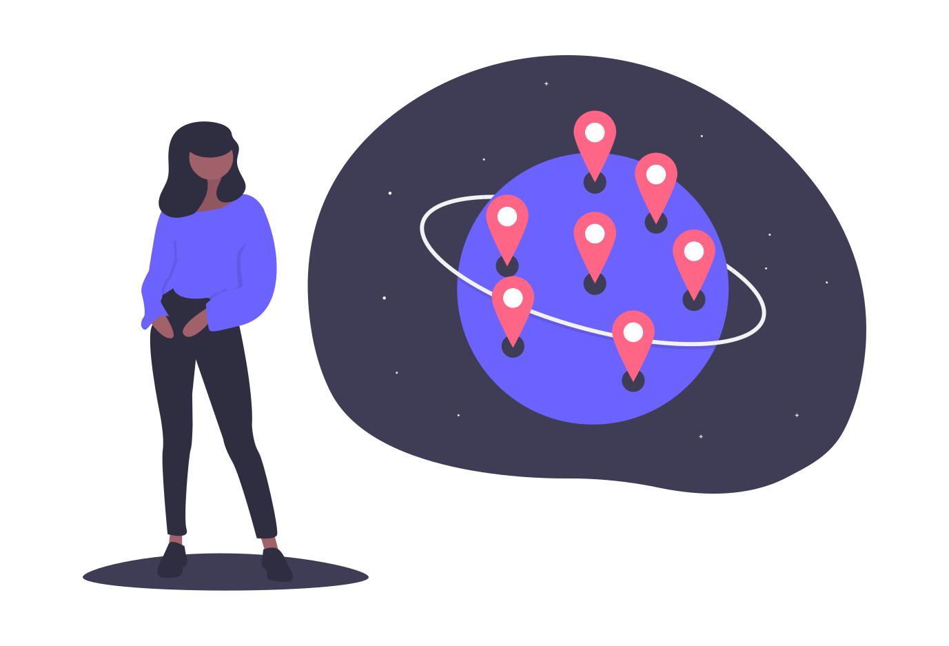global scale strategy self-service