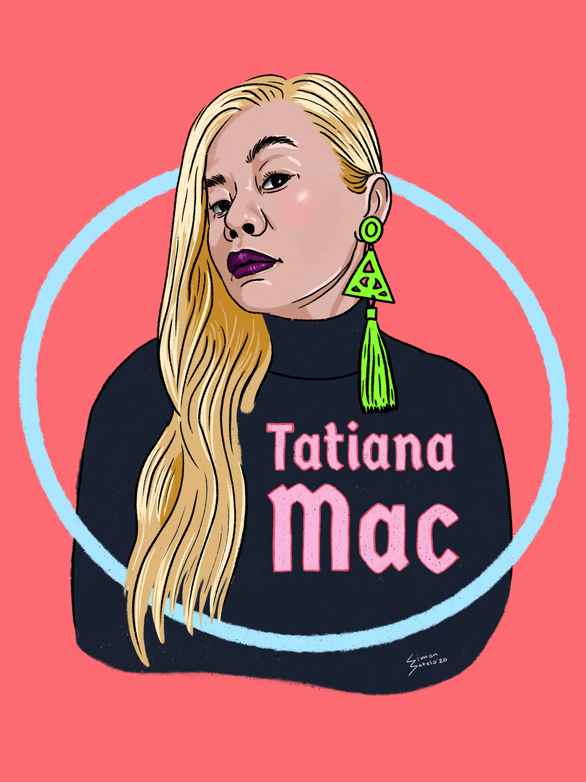 Illustration of Tatiana Mac