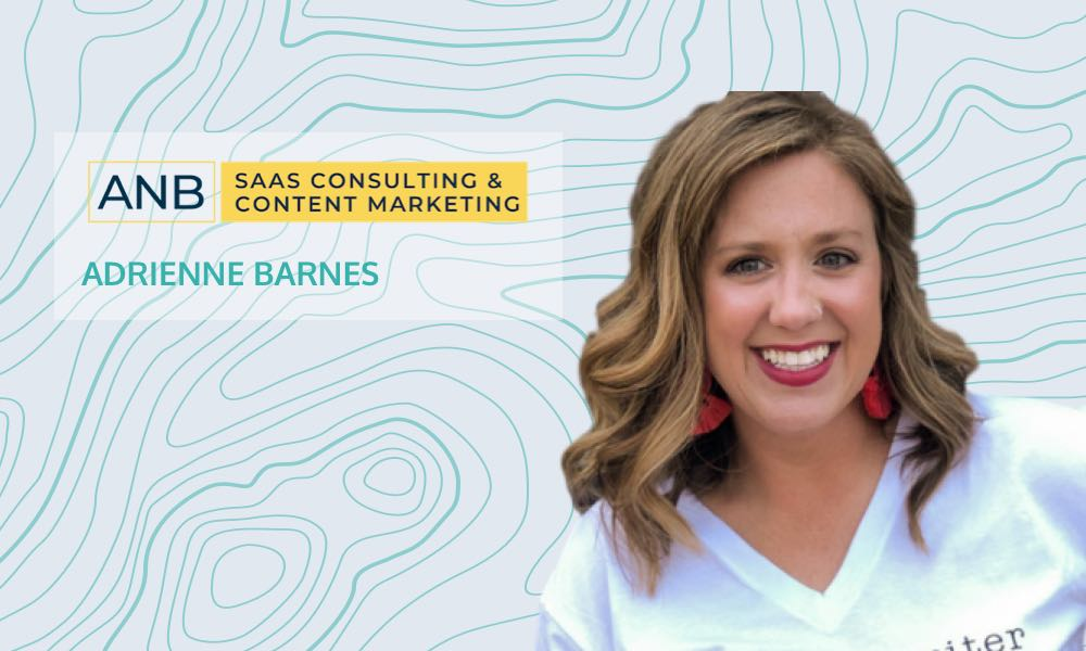 Using customer insights to level up your content strategy with Adrienne Barnes