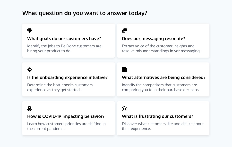 Customer Surveys: What, when, and who to ask