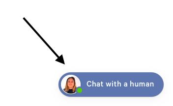Casper chat widget icon