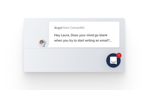 ConvertKit conversation example