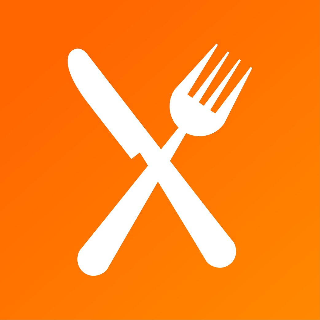 fork and spoon meal exchange logo