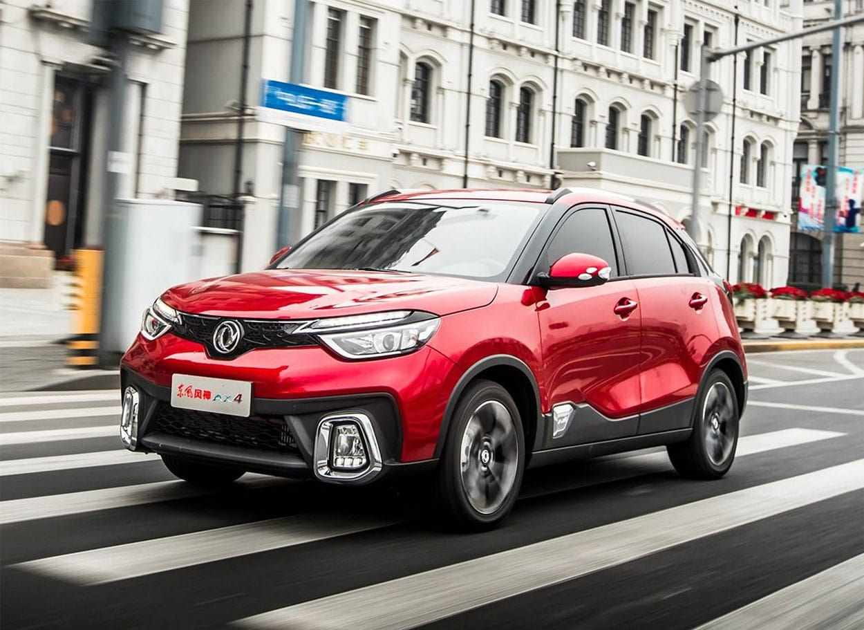 Dongfeng China Sales Figures