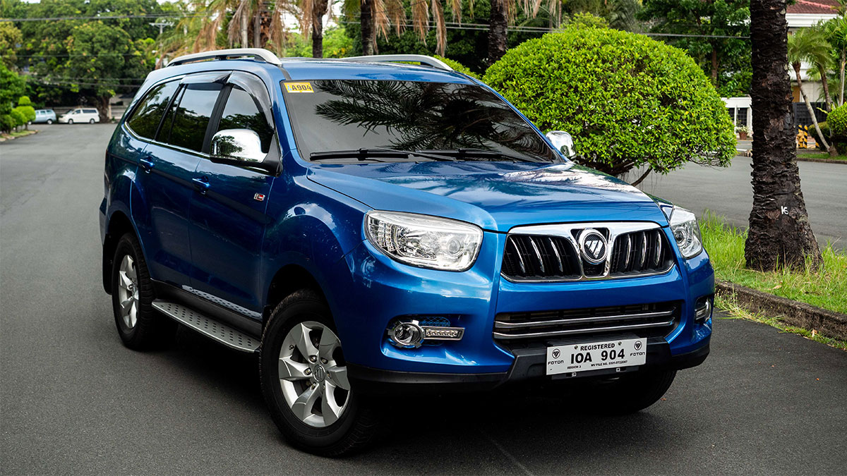Foton China Sales Figures