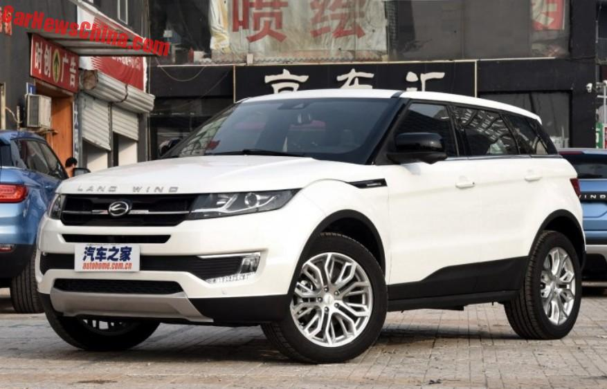 Jaguar Land Rover Sues China's Jiangling Auto Over Landwind X7 ...