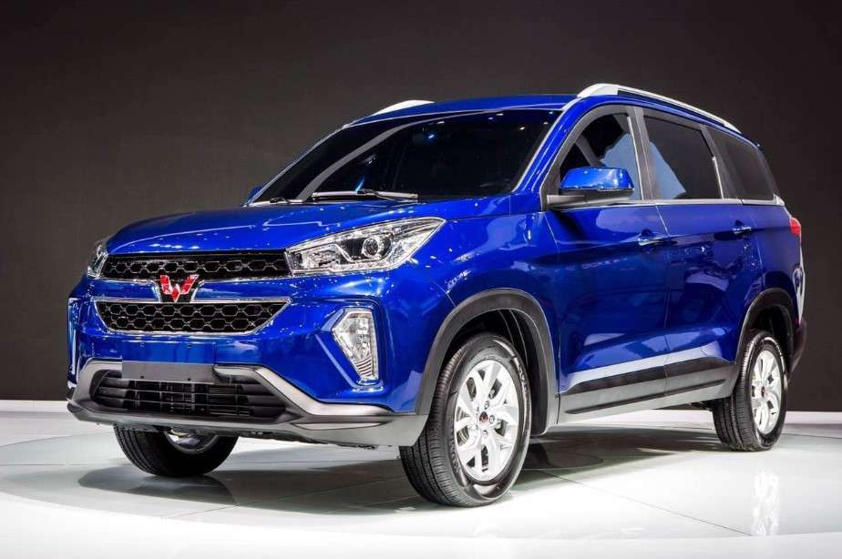 SAIC-GM-Wuling: SAIC-GM-Wuling unveils its first SUV - Hong Guang ...