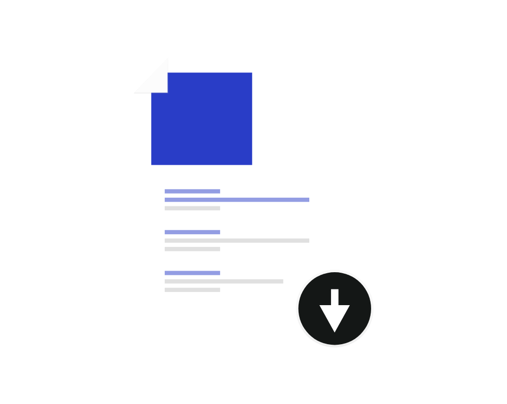 Download Document Icon