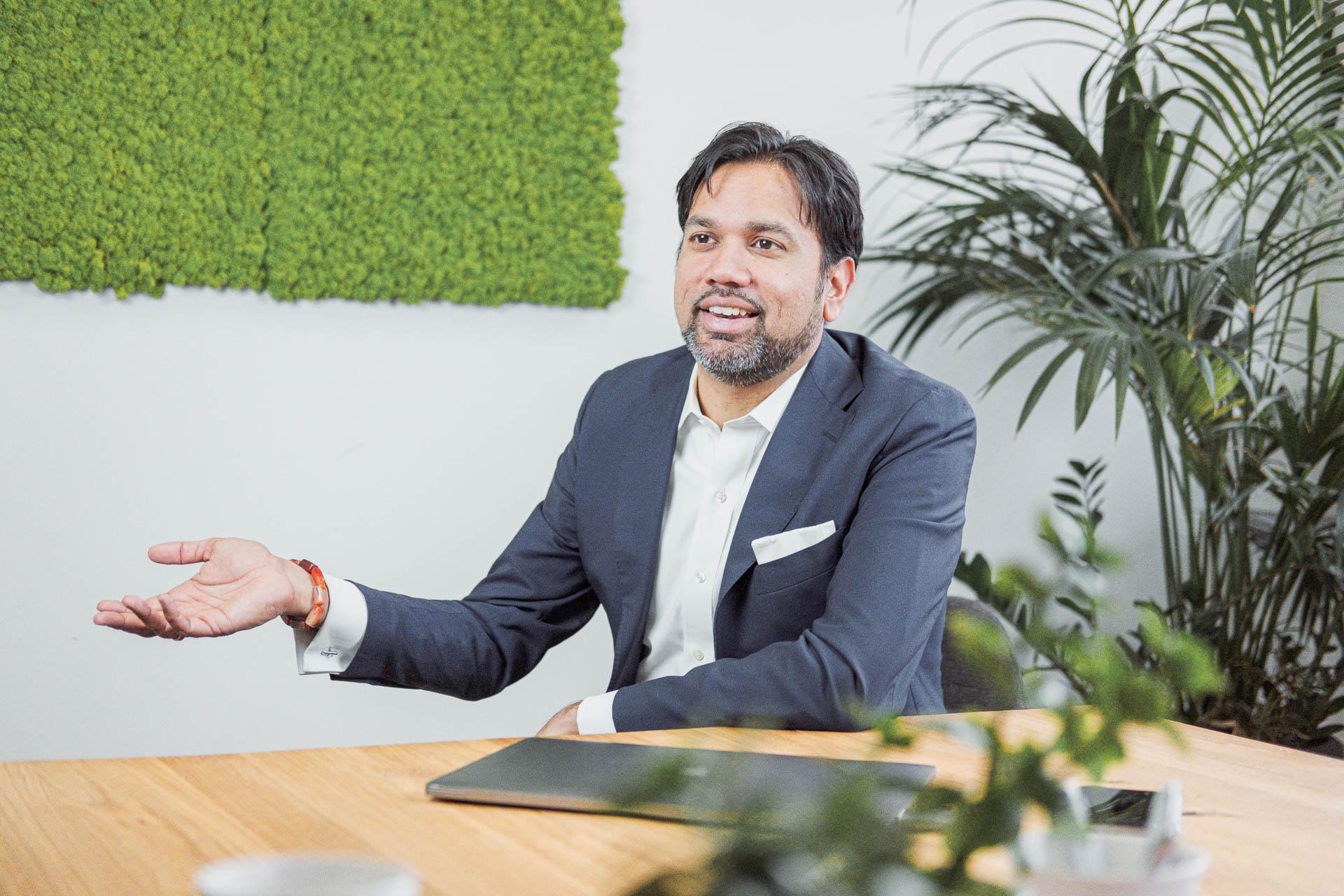 Image of Al Lakhani, CEO IDEE GmbH