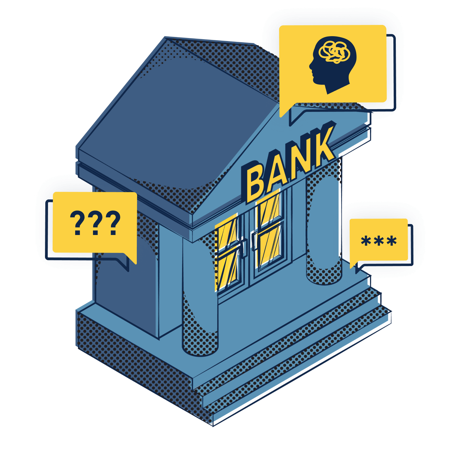 Trying to wrangle insights from vast quantities of raw transactions is an enormous challenge for banks