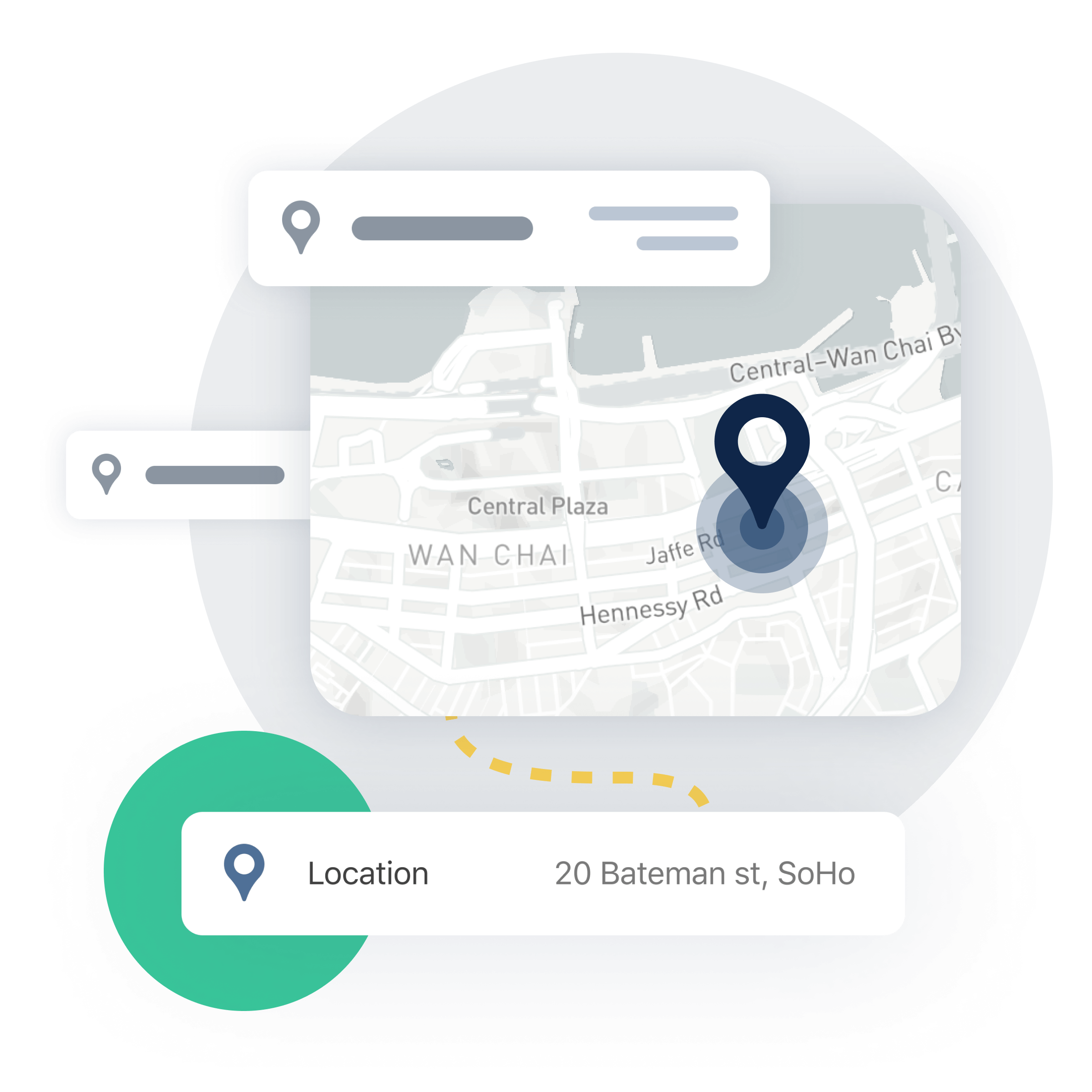 gini enriches transactions with additional metadata including location and address of merchant